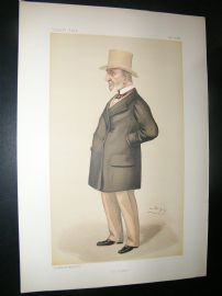 Vanity Fair Print: 1886 John Simon, Legal